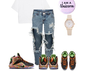 girl, Polyvore, and swag image