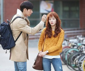 cheese in the trap, yoo jung, and hong seol image