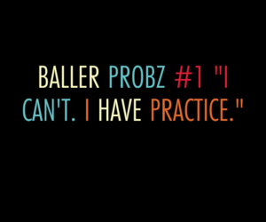 Basketball, practice, and player problems image