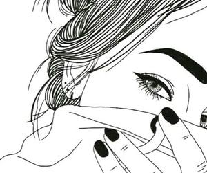 eyebrows, nail vanish, and girl image