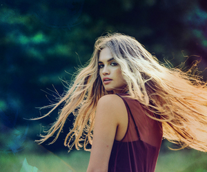 blonde, photograph, and portrait image