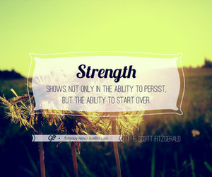 inspirational, strength, and quotes image