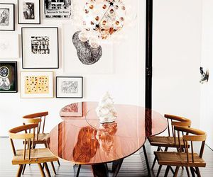 home, interior, and table image