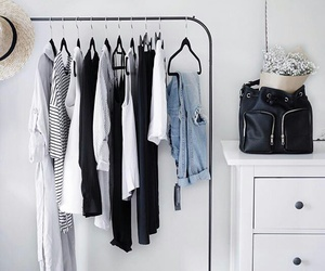 clothes, fashion, and closet image