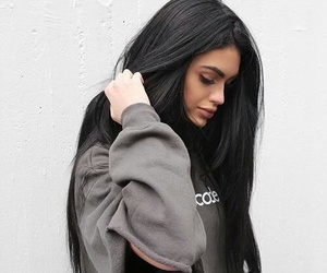 girl, hair, and style image