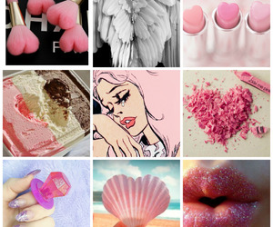 baby pink, cupid, and eros image