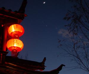 china, chinese, and lantern image