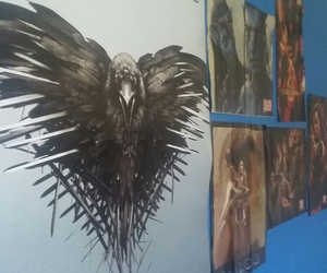 arty, geek, and game of thrones image