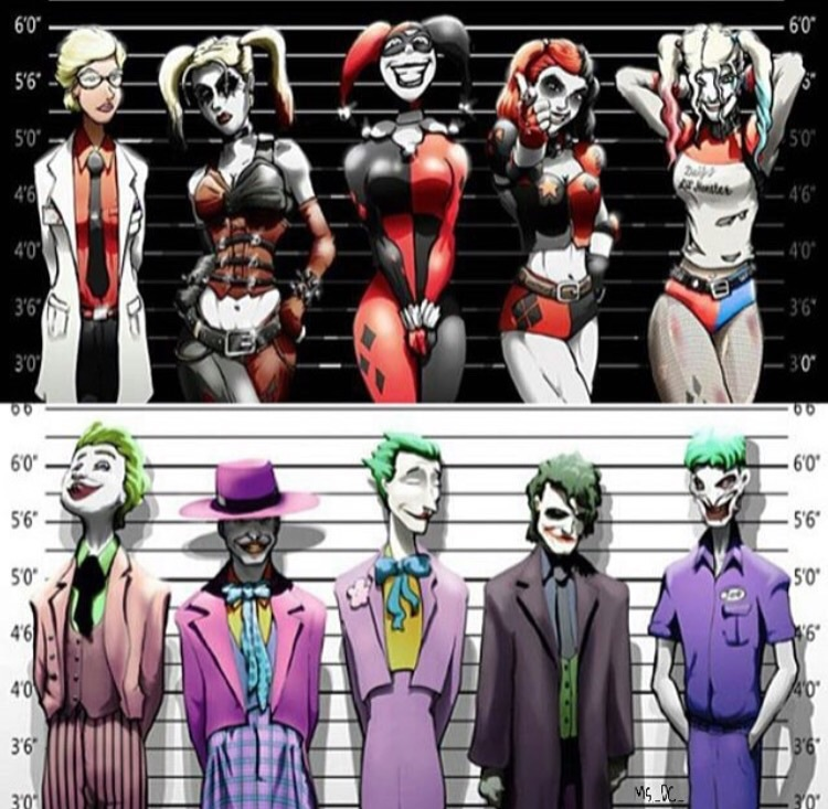 Image About Costume In Joker Et Harley By Lh