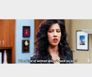 quote, brooklyn nine nine, and rosa diaz image