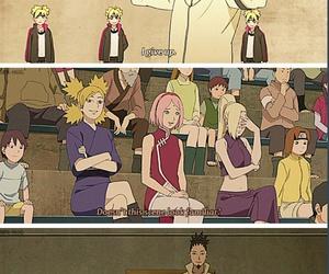 naruto, temari, and sakura image