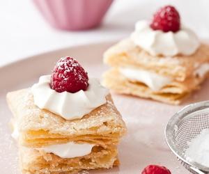 food, sweet, and raspberry image