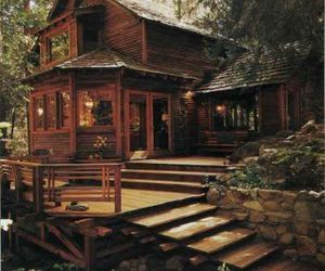 cabin, Dream, and life image