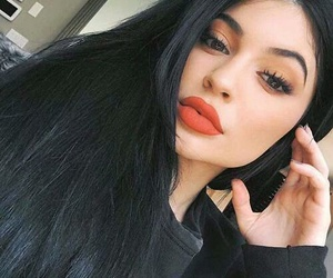 black, kylie jenner, and kylie image