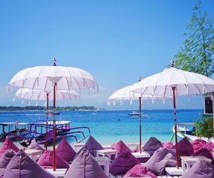 beach, relax, and paradise image