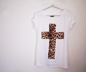 fashion, cross, and white image
