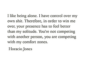 alone, emotions, and qoute image