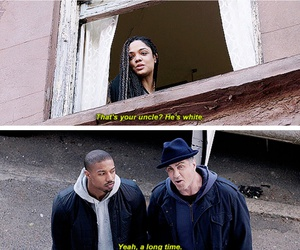 actor, creed, and funny image