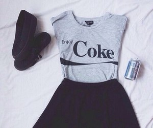 fashion, coke, and style image