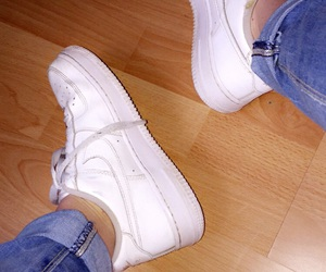 air, shoes, and white image