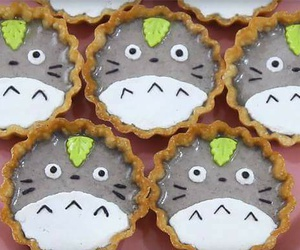 totoro and food image