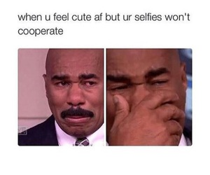 lol, funny, and selfie image