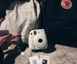 backpack, instax, and school image