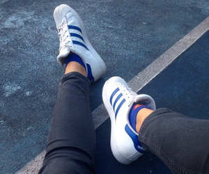 adidas, aesthetic, and alone image