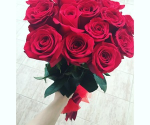 birthday, roses, and flowers image