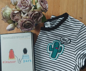 cactus, roses, and t-shirt image