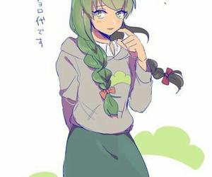 anime girl, art, and drawing image