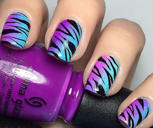 blue, diy, and nails image
