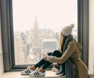 girl and new york image