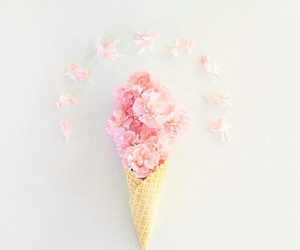 flowers and ice cream image