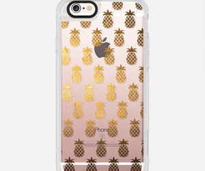 case, pineapple, and gold image