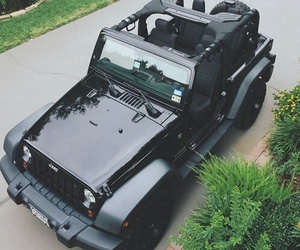 car, jeep, and black image