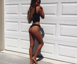 bikini, girl, and legs image