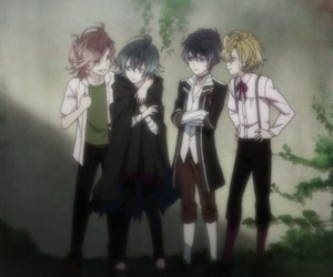 diabolik lovers, anime, and mukami brothers image