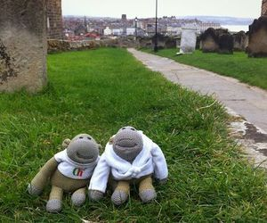 graveyard, whitby, and happy image