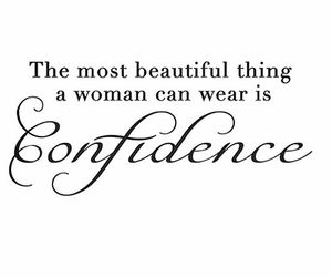 quotes, woman, and confidence image