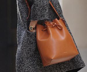 fashion, bag, and coat image