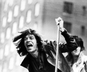 bw, mick jagger, and streets image