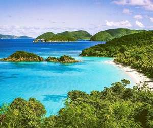 beach, beautiful, and Caribbean image
