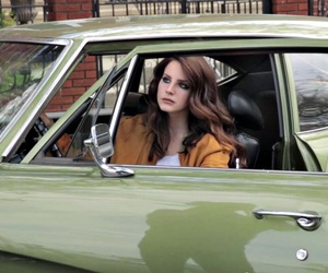 lana del rey, indie, and green image