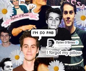 boys, Collage, and dylan image