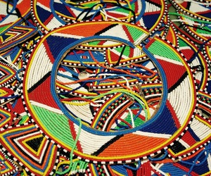African, masai, and african fashion image