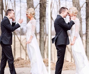 tyler joseph, twenty one pilots, and wedding image