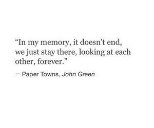 quote, john green, and book image