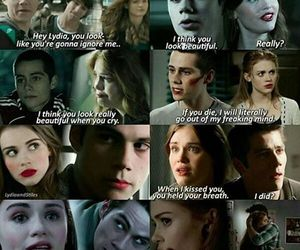 lydia, otp, and stiles image