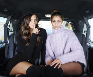 sara sampaio, taylor hill, and model image